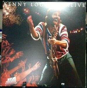 KENNY LOGGINS Alive Double Album Released 1980 Vinyl/Record  Collection USA