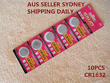 10pcs CR1632 Button Cell Battery Coin Lithium Battery 3V Watches Toy Calculator