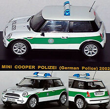 BMW Mini Cooper Polizei 2002 German Police Bayern 1:43 Ixo