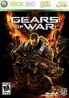 Gears of War (Microsoft Xbox 360,  Excellent Condition Tested,Complete Free Ship