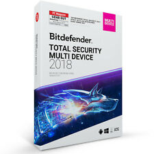 Bitdefender Total Security Multi Device 2018 - 5 Geräte (PC) %7c 2 Jahre DOWNLOAD