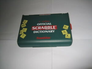 COLLINS OFFICIAL ELECTRONIC SCRABBLE DICTIONARY