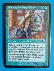 Magic MTG Card NINJA OF THE DEEP HOURS Time Spiral Remastered Rara ENG Mint