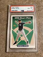 1993 Topps #98 Derek Jeter PSA 8