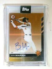 Brandon Marsh 2019 Bowman Next Angels Mesa Solar Sox Autograph Card 5/5