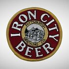 Vintage Iron City Beer Pittsburgh PA Embroidered Sew On 3 Patch