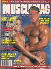 MUSCLEMAG INTERNATIONAL MAGAZINE -  December 1996 #175
