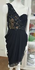 NWOTS Stunning cocktail dress by Rockchic Sydney.Sz8.Pure silk x sequins.Ret$570