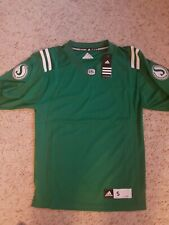 Saskatchewan  Roughriders CFL Jersey Small  Home Jersey New  w/ tags