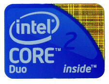 INTEL CORE 2 DUO STICKER LOGO AUFKLEBER 21x16mm (110)