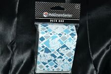 Just My Type Water Deck Box For Collectible Trading Cards Games Pokemon Case NEW