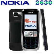 Original Nokia 2630 - Black (Unlocked) GSM 2G Mobile Cell Phone