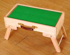 Lego city storage Puzzles Play Table folding custom Jigsaw wooden kids children