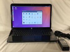 HP Pavilion G7 AMD A8-4500 Redon 4GB RAM 640GB HDD 15'' Ubuntu 16.04 Notebook.
