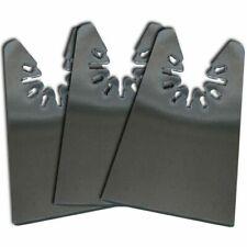 3 x Flat Oscillating Tool Scraper - Porter Cable; Skil Compatible