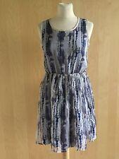 Robes bleus en soie pour femme taille 36   eBay 4cce8cb7095