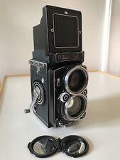 Rolleiflex 2.8C Model K7C TLR CARL ZEISS PLANAR 1:2,8 f=80mm EXCELLENT Condition