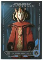 2019 Star Wars Masterwork Blue 13 Queen Amidala