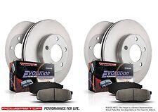 Honda Civic Front Brake Rotor Autospecialty KOE2385 1-Click OE