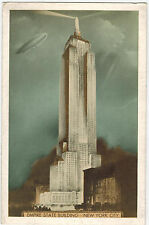 Dirigable at Empire State Building, New York City, USA, 1930s