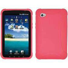 AMZER Silicone Skin Jelly Case Cover for Samsung GALAXY Tab GT P1000 - Baby Pink