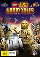 LEGO Star Wars: Droid Tales  - DVD - NEW Region 4