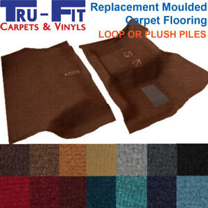 Moulded car carpet Front & Rear to fit Ford F100, F150, F250, F350 1968 - 1981