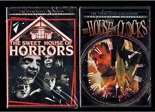 Sweet House of Horrors & House Of Clocks - 2 Brand New Lucio Fulci DVDs