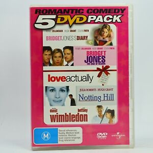 Romantic Comedy 5 Movie Pack DVD Good Condition Free Tracked Post