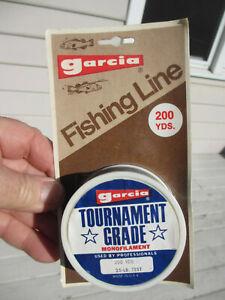 GARCIA TOURNAMENT GRADE LINE 200 yds 25 lb-test