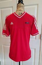 Adidias Youth Size XL Red and White Climalite Athletic Short Sleeve Shirt Unisex