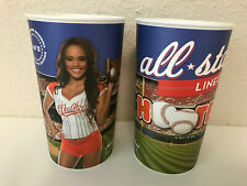 2 HOOTERS Baseball CALENDAR GIRLS All Star 2013 CUPS - Marlene Atlanta, GA - NEW
