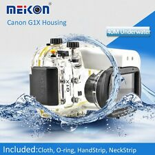 Meikon Diving Dive Waterproof Housing Waterproof Case for Canon G1X camera