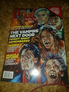 THE DARKSIDE MAGAZINE Fright Night  Hammer Horror Cult Movies Issue 212 Latest