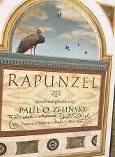 Rapunzel by Wilhelm K. Grimm and Jacob Grimm 1997 HCDJ SIGNED by Paul Zelinsky