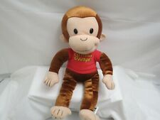 """Curious George 16"""" Plush Stuffed Animal Toy Tv Character Monkey"""