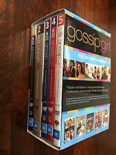 GOSSIP GIRL THE COMPLETE SEASONS DVD 1-5 1 2 3 4 5 Like New Region 4 Set Bulk