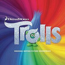 TROLLS : VARIOUS OST SEALED CD ALBUM **FREE UK P+P**