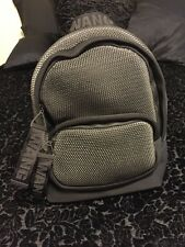 Alexander Wang for H&M Silver Black Grey Mesh Backpack NWT SOLD OUT!