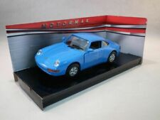 Porsche 911 (993) Blue, Classic Metal Model Car, Motormax 1/24