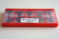 25mm Triangle Scraper Blade High Carbon Steel To Suit BahcoErgo625 Scraper 10pcs