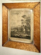 Vevares 18thCentury copperplate Engraving 'The Falconer' By W Elliott 1720-1766