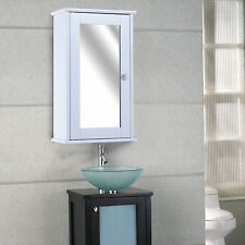 50cm Bathroom Wall Mounted Mirrored Cabinet Storage Medicine Cabinet Mirror Door