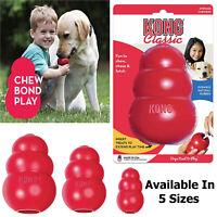 Kong Classic Dog Puppy Treat Dispensing Chew Play Toy Rotty German Shepherd Pug