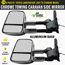 NEW Electric HighVis Side Mirrors Toyota Land Cruiser 200 Series Indicators