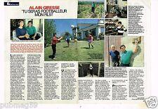 Coupure de presse Clipping 1989 (2 pages) Alain Giresse