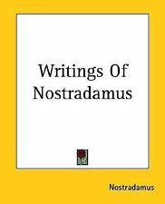 Writings Of Nostradamus