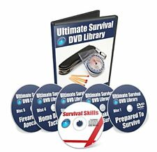 Sealed ULTIMATE SURVIVAL DVD LIBRARY Disc Set Free Shipping!