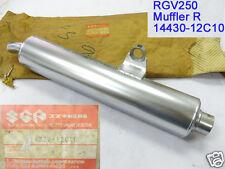 Suzuki RGV250 Exhaust Muffler RH 1989 NOS RGV 250 EXHAUST PIPE 14330-12C10