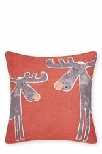 BRAND NEW WITH TAGS NEXT CHILDREN'S CHRISTMAS REINDEER CUSHION 43 CM X 43 CM